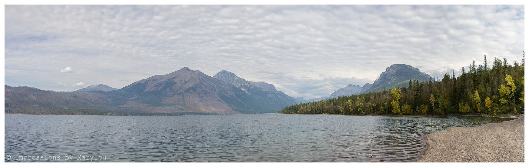 Lake McDonald Pano b