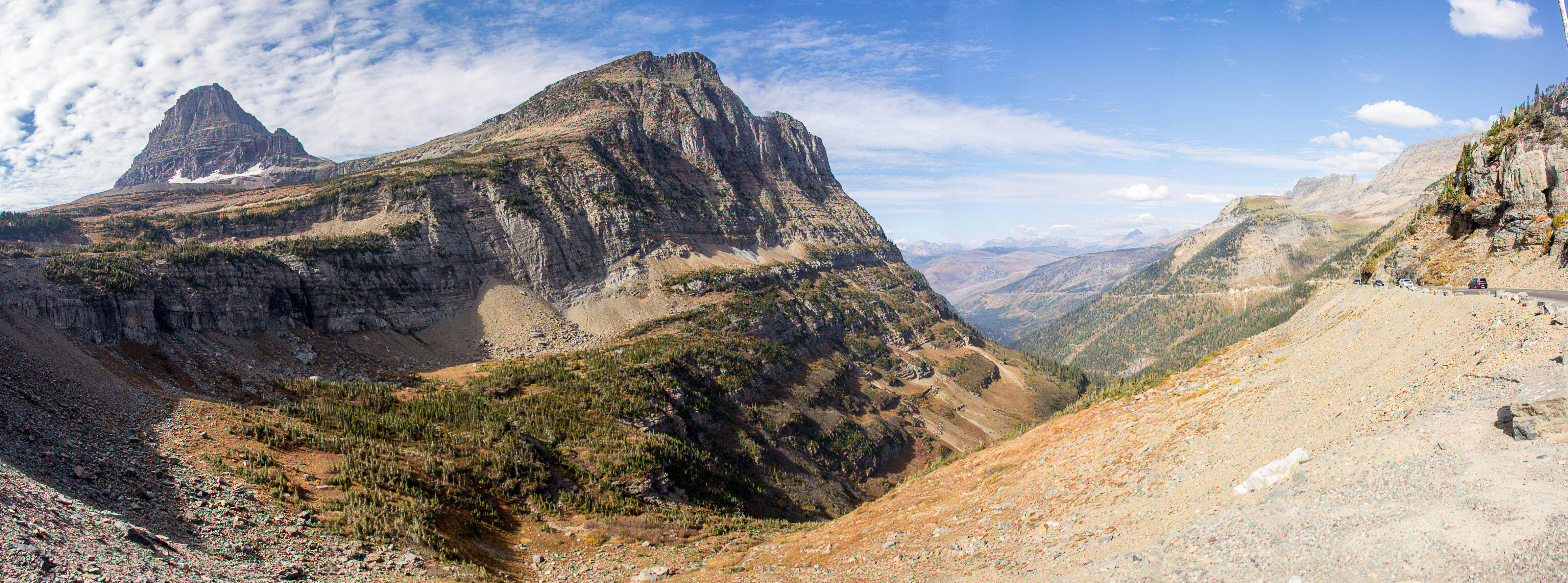 Logan's Pass Pano
